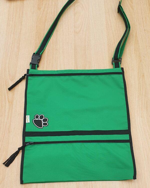 Dog Walking Bag Carry-All Emerald Green